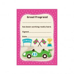 A6 Great Progress Praise Pad