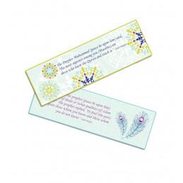Set Of 2 Bookmarks Floral...