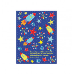 Space Rocket Exercise Notebook