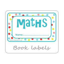 Exercise Book Labels