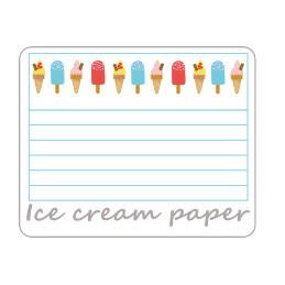 Ice Cream Paper
